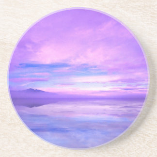 Lake Mirrored Serenity Hood Canal Seabeck Coaster