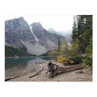 Lake Moraine, Alberta, Canada - Postcard