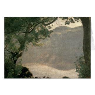 Lake Nemi, 1843 Card