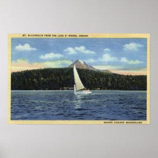 Lake O' The Woods, Oregon Poster