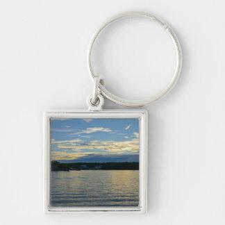 Lake Of The Ozarks Blue Sunset Key Ring