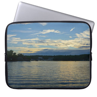 Lake Of The Ozarks Blue Sunset Laptop Sleeve
