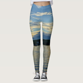 Lake Of The Ozarks Blue Sunset Leggings