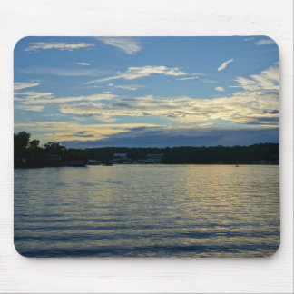 Lake Of The Ozarks Blue Sunset Mouse Pad