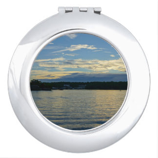 Lake Of The Ozarks Blue Sunset Vanity Mirror