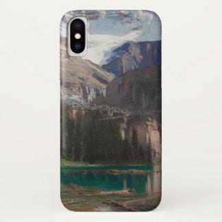 Lake O'Hara by John Singer Sargent, Victorian Art iPhone X Case