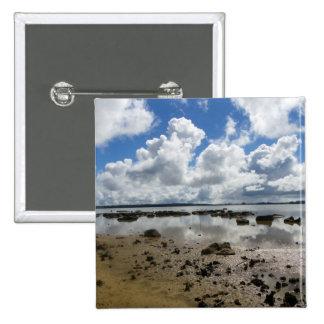 Lake Omapere Pinback Button