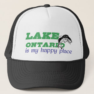 Lake Ontario is my happy place Trucker Hat