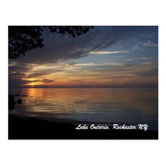 Lake Ontario, Rochester N.Y. Postcard