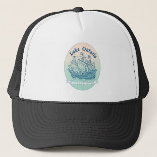 Lake Ontario Sailing Ship Trucker Hat
