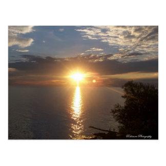 Lake Ontario Sunset Postcard
