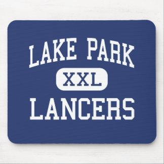 Lake Park - Lancers - High - Roselle Illinois Mouse Pad