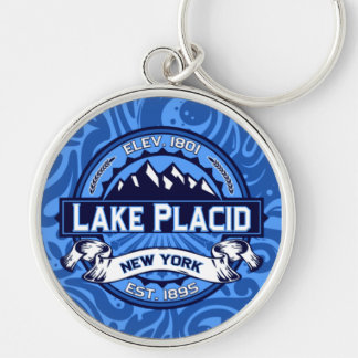 Lake Placid Color Keychain