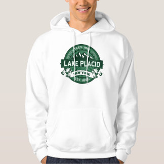 Lake Placid Logo Forest Hoodie