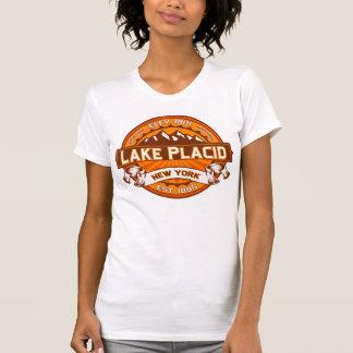 Lake Placid Logo Tangerine T-Shirt