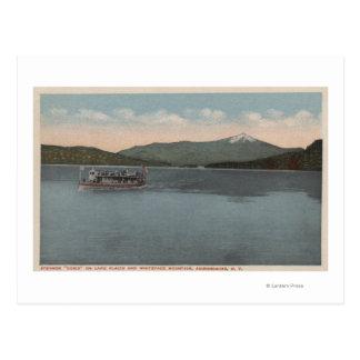 Lake Placid, NY - View of Steamer Doris Postcard