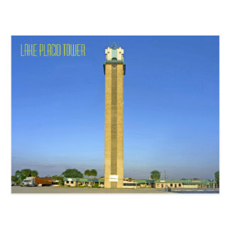 Lake Placid Tower- Lake Placid, Florida Postcard
