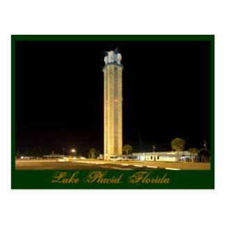Lake Placid Tower Postcard