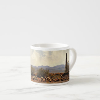 Lake Pleasant Landscape Espresso Mug
