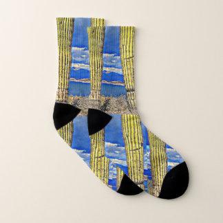 Lake Pleasant Saguaro Pillars Socks