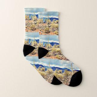 Lake Pleasant Saguaro Unisex Socks