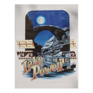 Lake Powell Moonlite Scenic Postcard