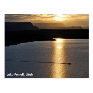 Lake Powell Sunrise - Glen Canyon Recreation Area Postcard