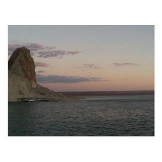 Lake Powell Sunset Postcard
