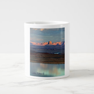 Lake Powell's Tower Butte Large Coffee Mug