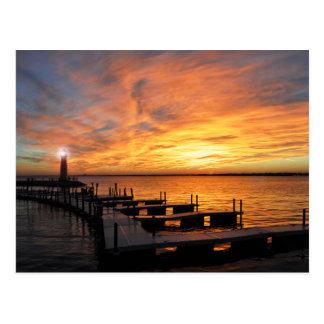 Lake Ray Hubbard Set Postcard