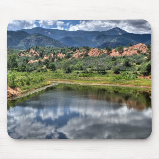 Lake Reflection Mouse Pad