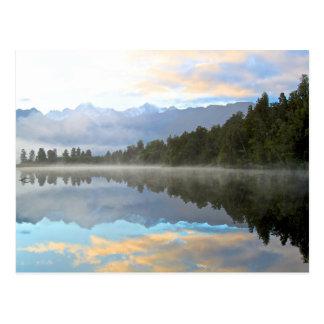 Lake Reflection Postcard