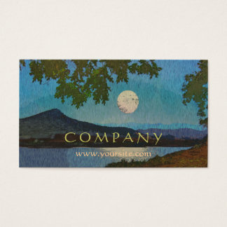 Lake Reflections Business Card