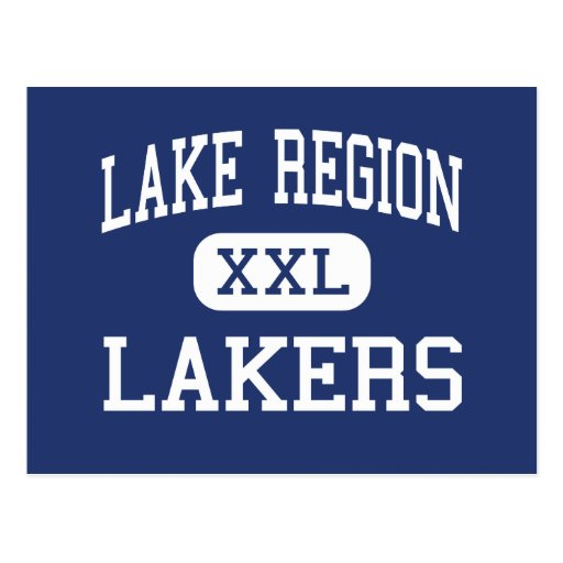 Lake Region - Lakers - High School - Naples Maine Post Cards