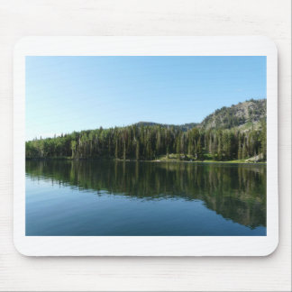 lake scene mouse pad