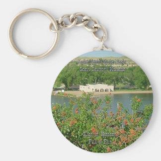 Lake Scott-2 Basic Round Button Key Ring