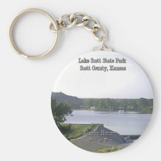Lake Scott State Park-3 Key Ring