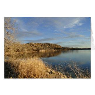 Lake Scott State Park Kansas Card