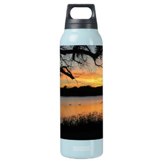Lake Scott Sunset Photograph 0.5L Insulated SIGG Thermos Water Bottle