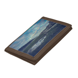 Lake Sea Mirror Tri-fold Wallet