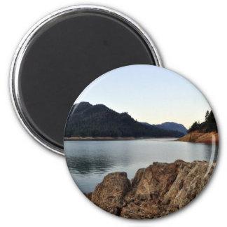 Lake Shasta 6 Cm Round Magnet