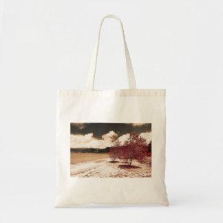 Lake shore budget tote bag