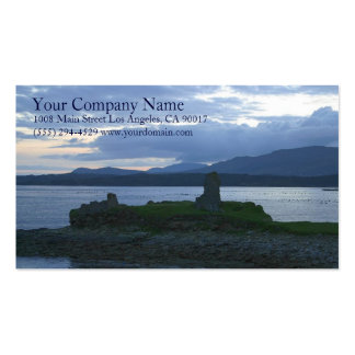 Lake Shore Shoreline Wooded Grassy Mountains Pack Of Standard Business Cards