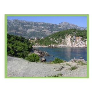 Lake Side Of Montenegro In Sutomore Postcard