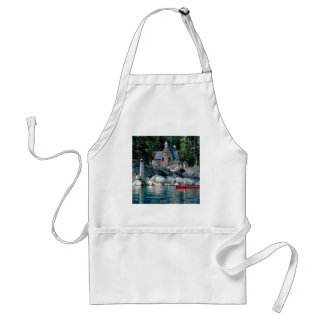 Lake Sight Seeing By Canoe Tahoe Aprons