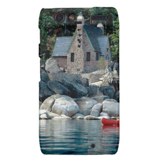 Lake Sight Seeing By Canoe Tahoe Droid RAZR Covers
