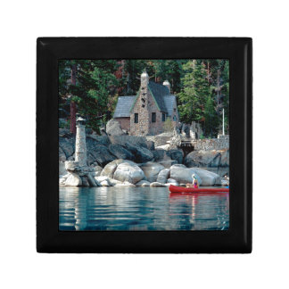 Lake Sight Seeing By Canoe Tahoe Jewelry Boxes