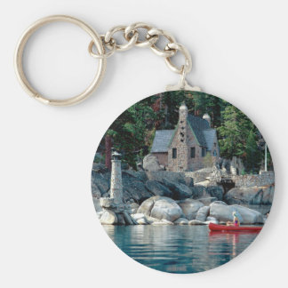 Lake Sight Seeing By Canoe Tahoe Key Chains