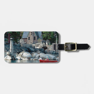 Lake Sight Seeing By Canoe Tahoe Tags For Bags