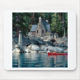 Lake Sight Seeing By Canoe Tahoe Mousepads